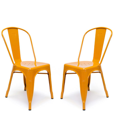 Galvanized Steel Chair – Set of 2