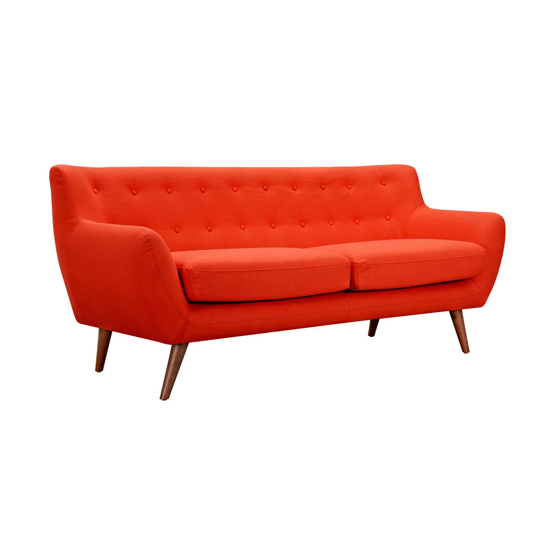 olson sofa in orange harry 39 s used furniture. Black Bedroom Furniture Sets. Home Design Ideas