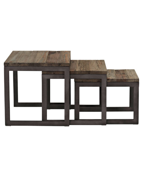 3-Pc. Studebaker Nesting Tables